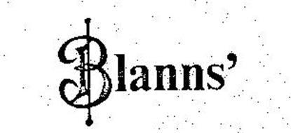BLANNS'
