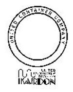 UNITED CONTAINER COMPANY UNITED CONTAINER DIVISION KARDON