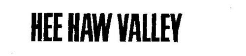 HEE HAW VALLEY