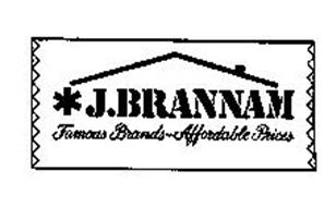J. BRANNAM FAMOUS BRANDS-AFFORDABLE PRICES