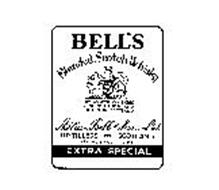 BELL'S BLENDED SCOTCH WHISKEY 100% SCOTCH WHISKIES DISTILLED BLENDED AND BOTTLED IN SCOTLAND ARTHUR BEL AND SONS LTD. DISTILLERS PERTH SCOTLAND ESTABLISHED 1825 EXTRA SPECIAL