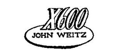 X600 JOHN WEITZ
