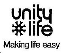 UNITY LIFE MAKING LIFE EASY