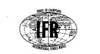 RODEO OF CHAMPIONS IFR INTERNATIONAL FINALS RODEO
