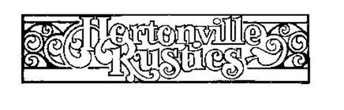 HORTONVILLE RUSTICS