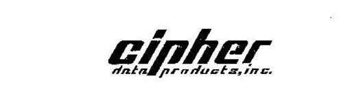 CIPHER DATA PRODUCTS, INC.