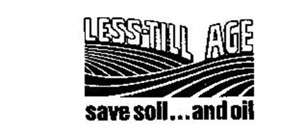 LESS-TILL AGE SAVE SOIL...AND OIL