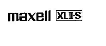 MAXELL XLII-S