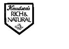 KNUDSEN'S RICH & NATURAL THE VERY BEST