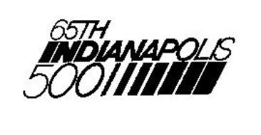 65TH INDIANAPOLIS 500
