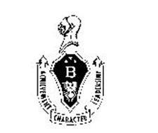 B ACHIEVEMENT CHARACTER LEADERSHIP
