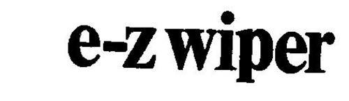 E-Z WIPER