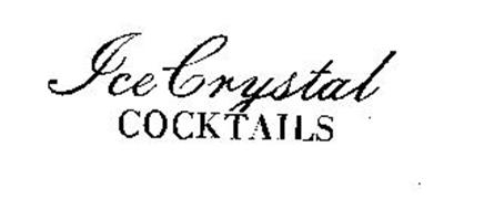 ICE CRYSTAL COCKTAILS