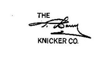THE T. BARRY KNICKER CO.