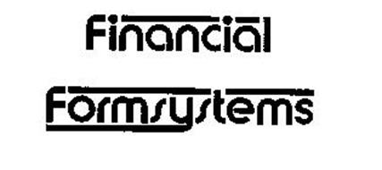 FINANCIAL FORMSYSTEMS