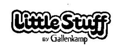 LITTLE STUFF BY GALLENKAMP