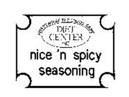 HOW TO WIN AT THE LOSING GAME DIET CENTER INC NICE 'N SPICY SEASONING