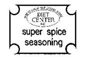 HOW TO WIN AT THE LOSING GAME DIET CENTER INC SUPER SPICE SEASONING
