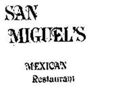 SAN MIGUEL'S MEXICAN RESTAURANT