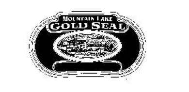 MOUNTAIN LAKE GOLD SEAL