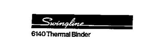 SWINGLINE 6140 THERMAL BINDER