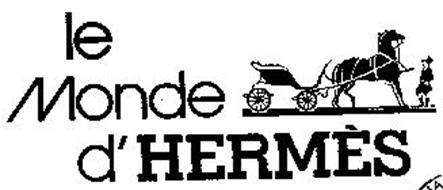 LE MONDE D' HERMES
