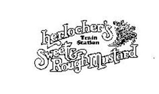 HERLOCHER'S TRAIN STATION SWEET & ROUGHMUSTARD