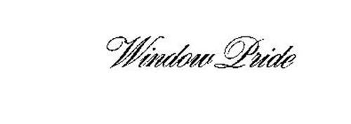 WINDOW PRIDE
