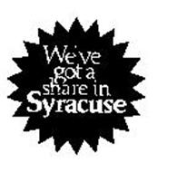 WE'VE GOT A SHARE IN SYRACUSE