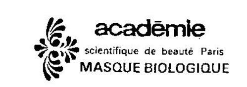 ACADEMIE SCIENTIFIQUE DE BEAUTE PARIS MASQUE BIOLOGIQUE