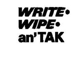 WRITE.WIPE.AN'TAK