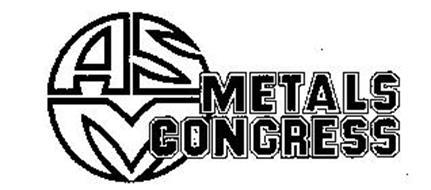 ASM METALS CONGRESS