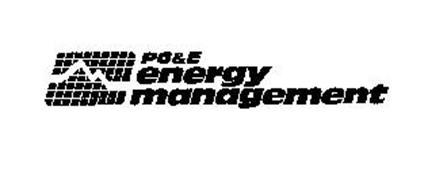 PG&E ENERGY MANAGEMENT