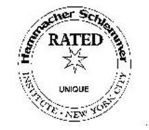 HAMMACHER SCHLEMMER RATED UNIQUE INSTITUTE NEW YORK CITY