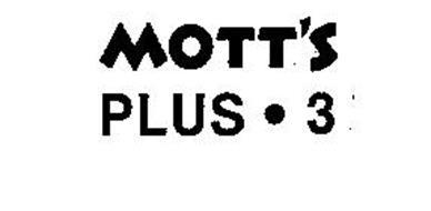 MOTT'S PLUS.3