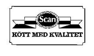 SCAN SWEDISH FARMERS MEAT MARKETING ASSOCIATION KOTT MED KVALITET