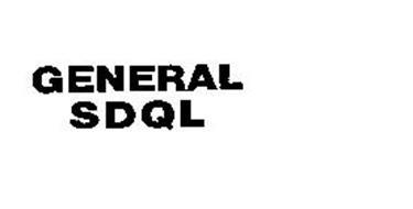 GENERAL SDQL