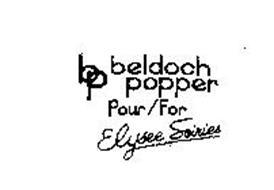 BP BELDOCH POPPER POUR/FOR ELYSEE SOIRIES
