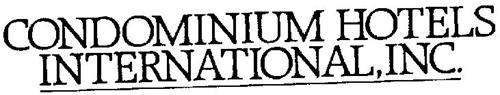 CONDOMINIUM HOTELS INTERNATIONAL, INC.