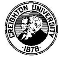 CREIGHTON UNIVERSITY .1878.