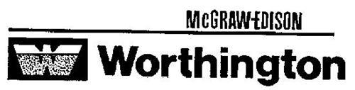 MCGRAW-EDISON W WORTHINGTON