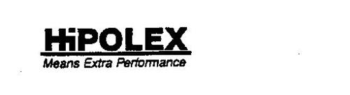 HIPOLEX MEANS EXTRA PERFORMANCE