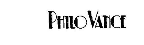 PHILO VANCE