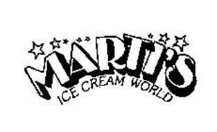 MARTI'S ICE CREAM WORLD