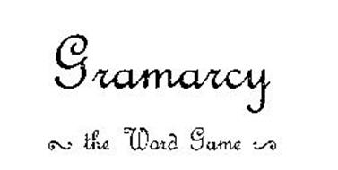 GRAMARCY THE WORD GAME