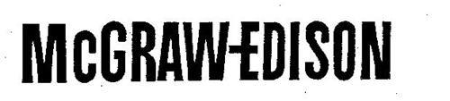MCGRAW-EDISON