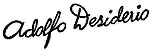 ADOLFO DESIDERIO
