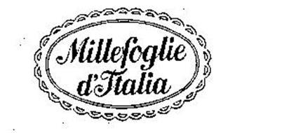MILLEFOGLIE D'ITALIA
