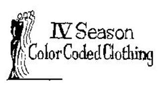 IV SEASON COLOR CODED CLOTHING
