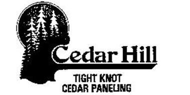 CEDAR HILL TIGHT KNOT CEDAR PANELING